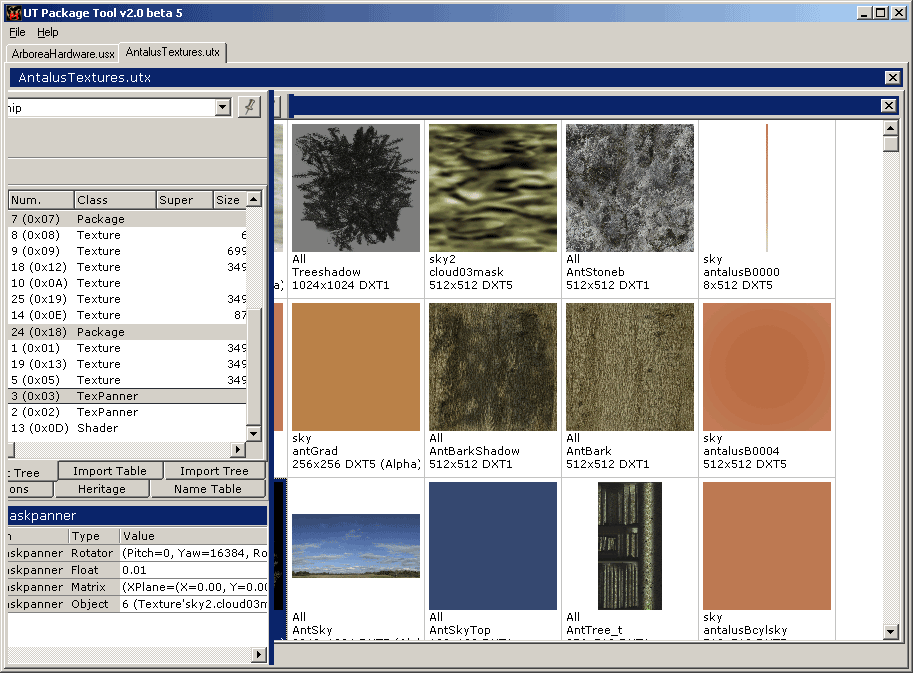 Unreal Tournament Package Tool